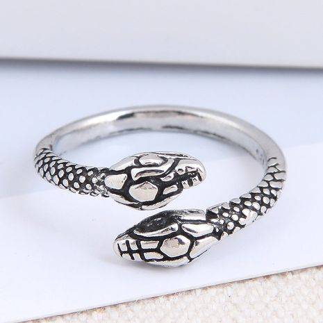 fashion metal snake open alloy ring hot-saling wholesale NHSC243290's discount tags