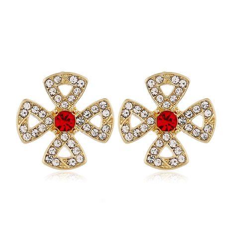 925 boucles d'oreilles en argent aiguille mode coréenne doux fleur sauvage NHSC243287's discount tags