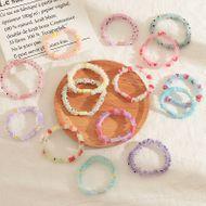 Children's net  yarn fruit hair ring candy color flower hair rope NHNU243380