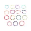 Childrens net  yarn fruit hair ring candy color flower hair rope NHNU243380