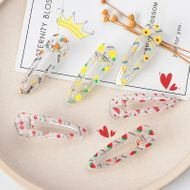 new candy color transparent hairpin NHNU243395