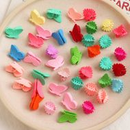 South Korea  Colored Small Flower Hairpin set  NHNU243397