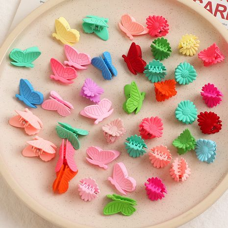 South Korea  Colored Small Flower Hairpin set  NHNU243397's discount tags
