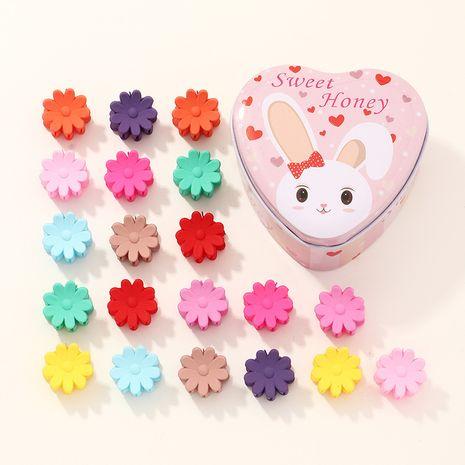 Korean  children's small beanie buckle hairpin  set wholesale  NHNU243419's discount tags