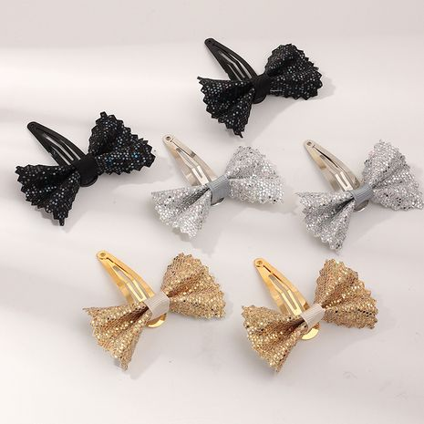 hot-selling 6-piece flash bow  alloy water drop BB clip  NHNU243430's discount tags