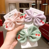 Korean children's  bow knot broken cherry hairpin  NHSA243436