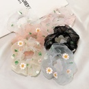 fashion new  flower simple large intestine ring hair scrunchies  wholesale  NHDQ243448