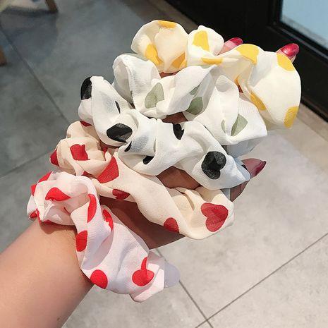 Amour coréen couleur simple cravate cheveux bande de caoutchouc mignon petite corde de cheveux en gros nihaojewelry NHDQ243457's discount tags