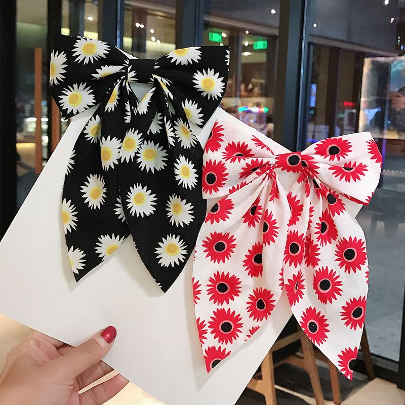 Korea big bow  swallow knot large duckbill hairpin  wholesale NHDQ243458