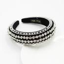 The new Baroque fashion widerim colored diamond headband wholesale nihaojewelry NHWJ243481