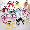 retro velvet bow hair rope sweet hair scrunchies wholesale nihaojewelry NHMS243525