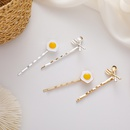 soft cute poached egg  retro spoon fork  side clip wholesale nihaojewelry NHMS243556