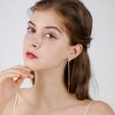 925 Silver Needle Asymmetric Fashion Long Earrings New Trendy Tassel Elegant Earrings wholesale nihaojewelry NHPP243572