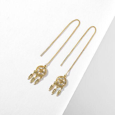 nouvelle tendance simple style long sexy ligne d'oreille en argent 925 aiguille en gros nihaojewelry NHPP243575's discount tags