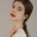 new simple trend long style sexy 925 silver needle ear line wholesale nihaojewelry NHPP243575