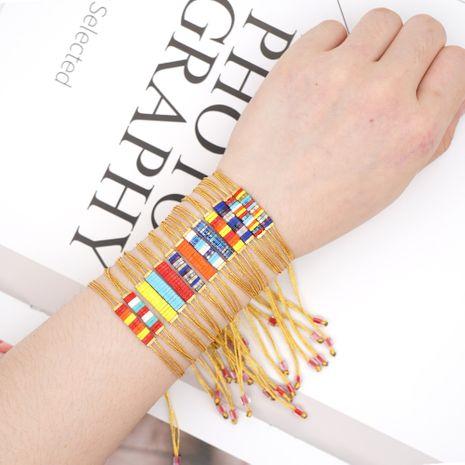 fashion couple bohemian style imported tila beaded bracelet wholesale NHGW243595's discount tags