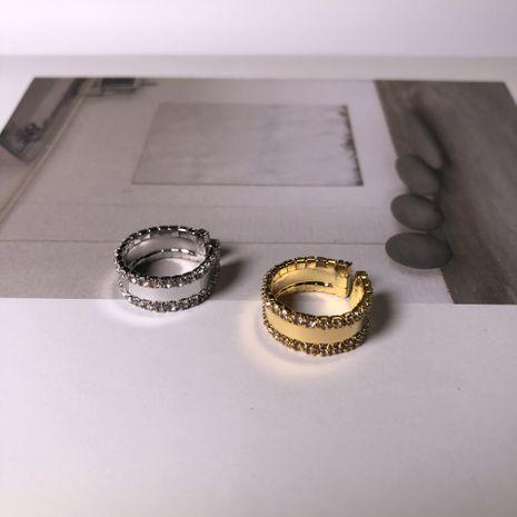 Placage sous vide ouverture coréenne bague d'index réglable en gros nihaojewelry NHIM243602's discount tags