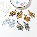 new acetate creative fashion exaggerated snakeshaped earrings wholesale nihaojewelry NHXI243622