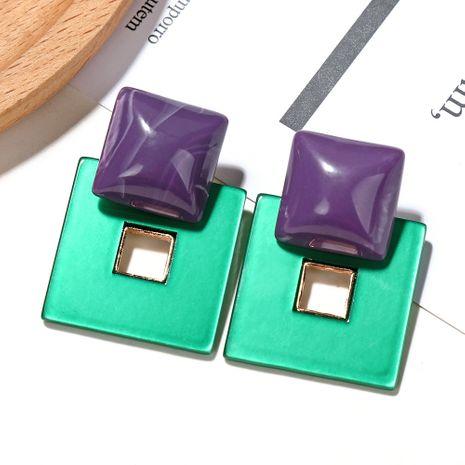 Korea Imported Acrylic Ball Square Box Geometric Simple Fashion stud Earrings wholesale NHXI243632's discount tags