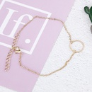 hot sale foot decoration summer beach simple circle fashion anklet NHXI243640