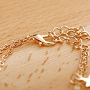 Fashion new hotselling beach chain simple fivepointed star long sequin tassel anklet NHXI243642