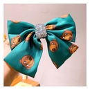 Korea Retro Cartoon Cute Bear Full of Diamond Big Bow hairpin wholesale nihaojewelry NHHD243660