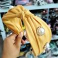 NHUX899913-Yellow-double-bright-silk-satin-pearl-rhinestone
