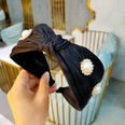 NHUX899917-Black-double-bright-silk-satin-pearl-rhinestone