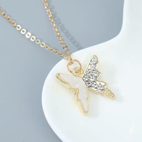 collier papillon volant simple mode en gros nihaojewelry NHPS243738's discount tags