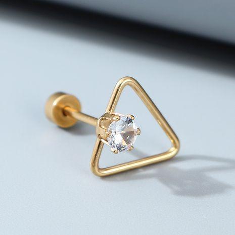 Pendientes creativos exagerados unilaterales para hombres y mujeres al por mayor nihaojewelry NHPS243744's discount tags