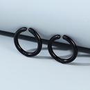 Korean fashion wild creative simple trend line mens earrings wholesale nihaojewelry NHPS243746