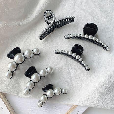 Clip perle coréenne élégante grande épingle à cheveux arrière en gros nihaojewelry NHOF243565's discount tags