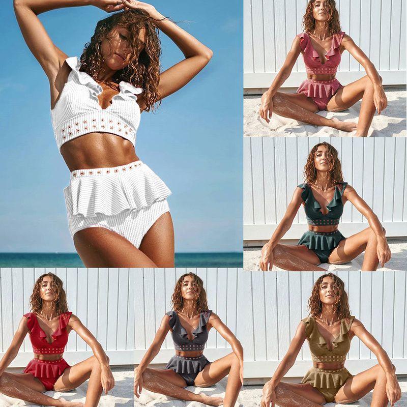 hot sale sexy deep V beach bikini wholesale nihaojewelry NHZO243800