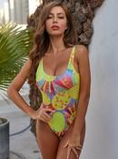 vente chaude dames une pice vente chaude imprim maillots de bain sexy en gros NHZO243863