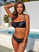 nouvelle vente chaude polka dot sling maillot de bain dames sexy split maillots de bain en gros nihaojewelry NHZO243881