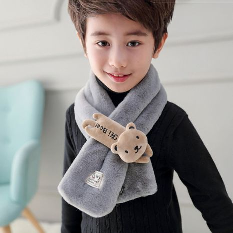 Cartoon rabbit children new color matching cute soft scarf wholesale  NHTQ243905's discount tags