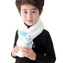 Cartoon rabbit children new color matching cute soft scarf wholesale  NHTQ243905