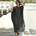NHXW901152-ZS1556-(black-and-white-striped-robe)-One-size