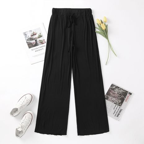 new autumn loose straight leg slimming all-match mopping casual trousers wholesale  NHAM244134's discount tags