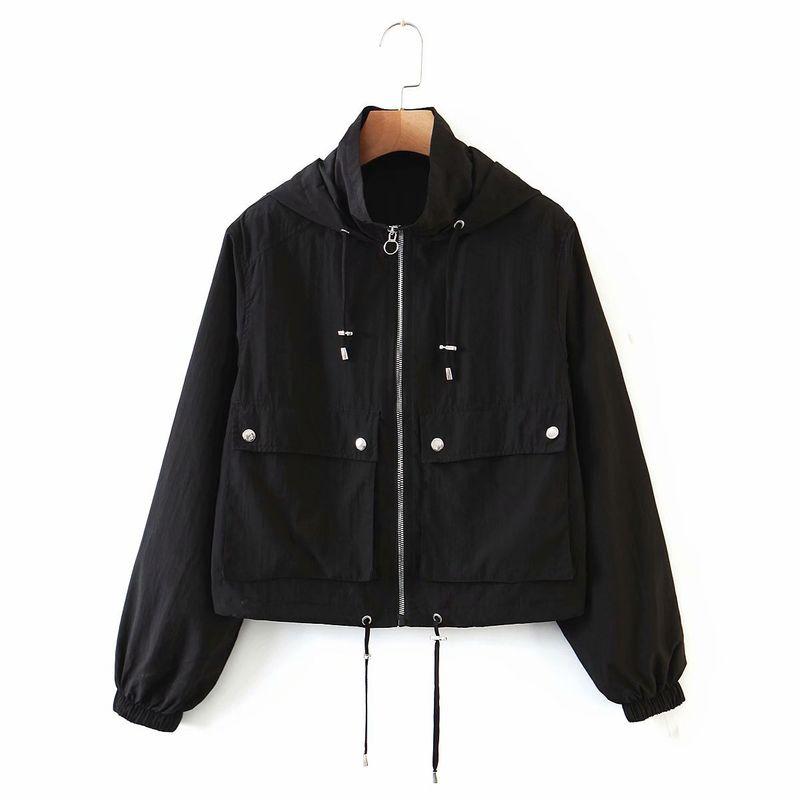 wholesale fashion autumn short nylon womens jacket hotsaling NHAM244166