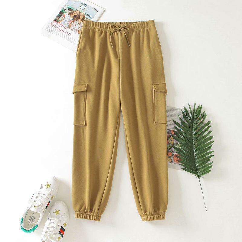 wholesale autumn plus new velvet home sweater pants women's casual pants  NHAM244186