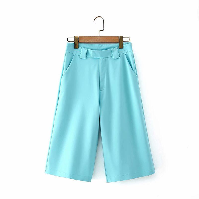 wholesale summer new fashion high waist suit five-point pants women  NHAM244205