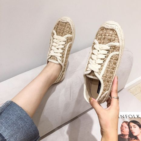 Fashion autumn new flat sole casual board fairy tide shoes for women wholesale NHHU244232's discount tags