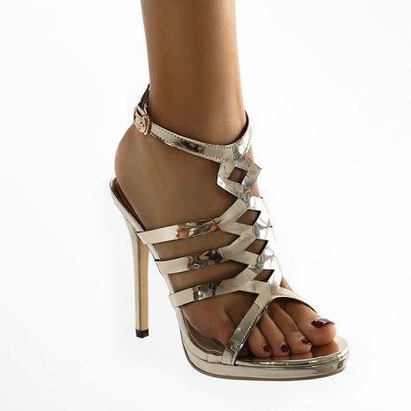 new fashion water platform stiletto open-toed women's sandals  NHCA244289's discount tags