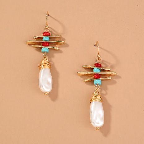 retro original fashion trend irregular long fashion earrings wholesale nihaojewelry NHAN244440's discount tags