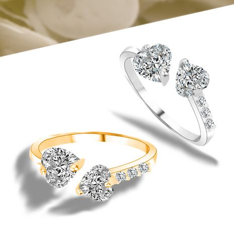 Hot Selling Fashion All-match Diamond  Zircon Ring  wholesale  NHAN244453's discount tags