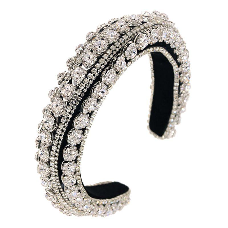 bandeau de strass de chane de diamant de l39industrie lourde de mode NHCO244460