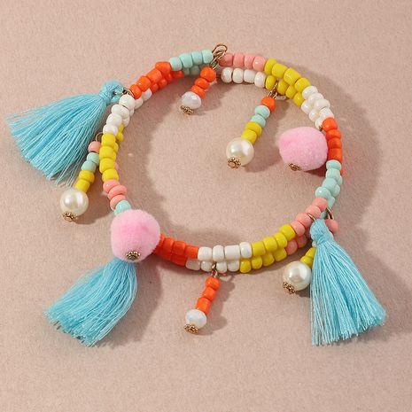 Bracelet pendentif en alliage de gland sauvage de couleur de style bohème de mode pour les femmes NHNZ244540's discount tags