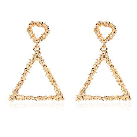 retro alloy geometric triangle hollow earrings Bohemian fashion earrings wholesale nihaojewelry NHCT244568's discount tags