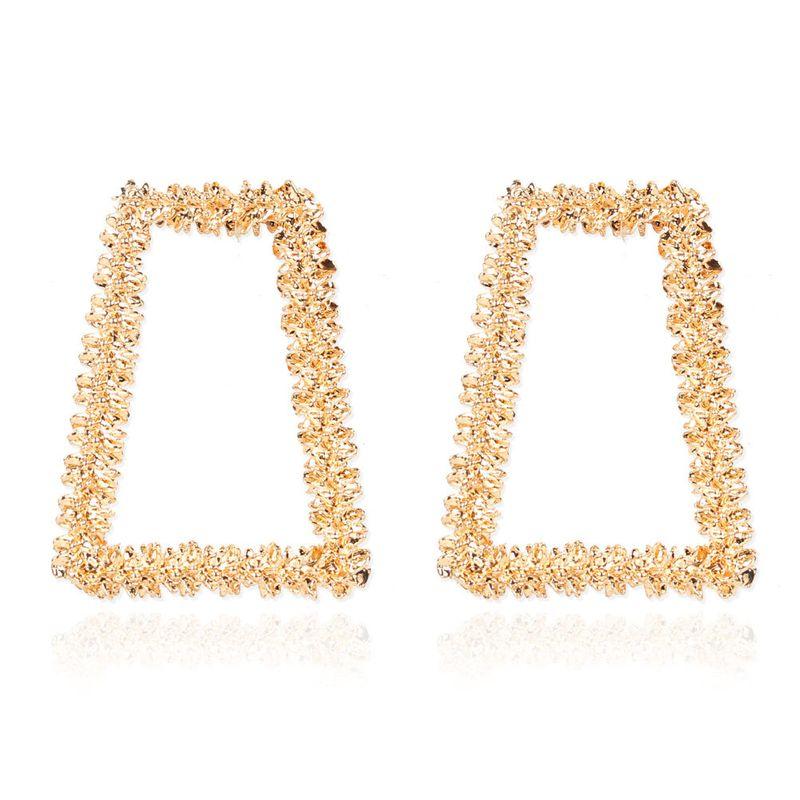Boho style retro alloy plating geometric earrings wholesale nihaojewelry NHCT244570